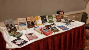 BWW author books on display